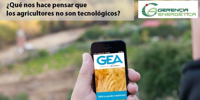 ¿Qué nos hace pensar que los agricultores no son tecnológicos?