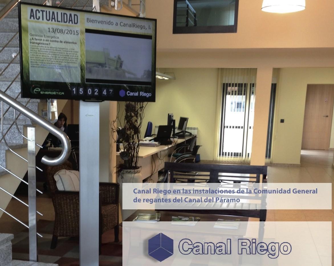 Nace Canal Riego, canal de comunicación de las Comunidades de Regantes